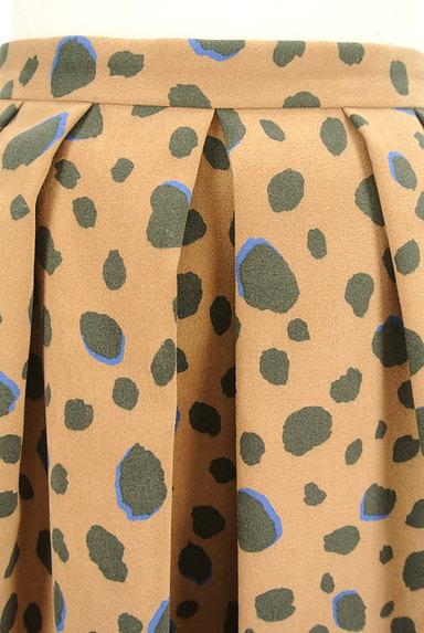 Apuweiser riche(アプワイザーリッシェ)の古着「レオパード柄フレアスカート(スカート)」大画像4へ
