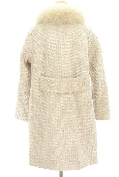 anatelier(アナトリエ)の古着「ファー襟付きロングウールコート(コート)」大画像2へ