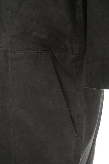 Banner Barrett(バナーバレット)の古着「七分袖スエードコクーンワンピース(ワンピース・チュニック)」大画像4へ