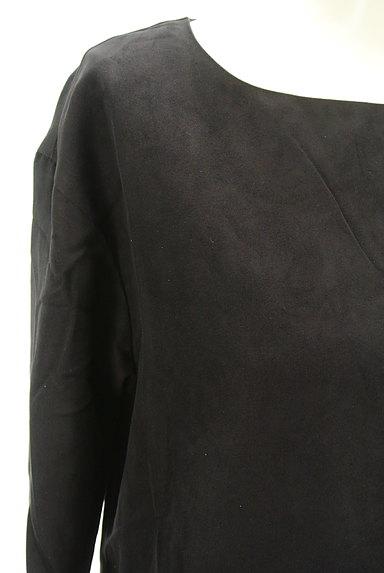 Banner Barrett(バナーバレット)の古着「七分袖スエードコクーンワンピース(ワンピース・チュニック)」大画像5へ