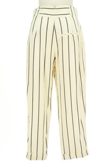 MOUSSY(マウジー)の古着「ストライプ柄テーパードパンツ(パンツ)」大画像2へ
