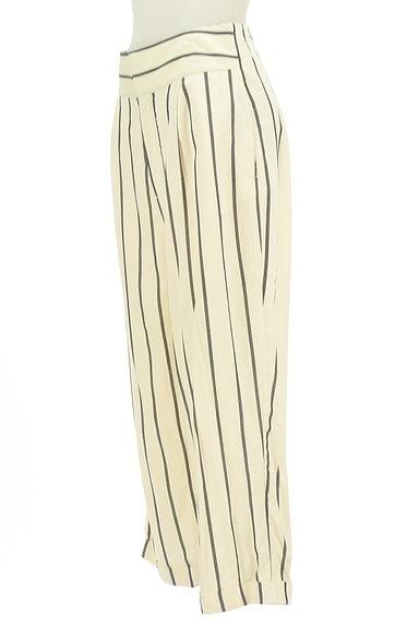 MOUSSY(マウジー)の古着「ストライプ柄テーパードパンツ(パンツ)」大画像3へ