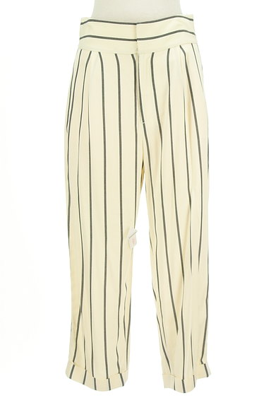 MOUSSY(マウジー)の古着「ストライプ柄テーパードパンツ(パンツ)」大画像4へ