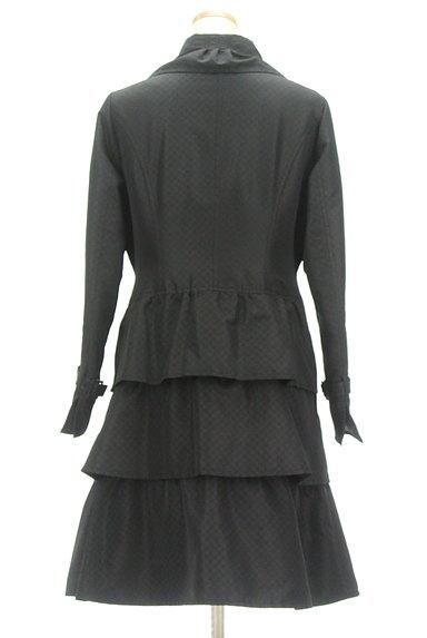 HIROKO BIS(ヒロコビス)の古着「ティアードフリルフロングコート(コート)」大画像2へ