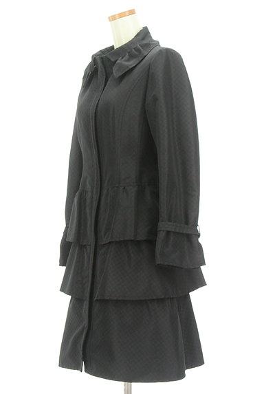 HIROKO BIS(ヒロコビス)の古着「ティアードフリルフロングコート(コート)」大画像3へ