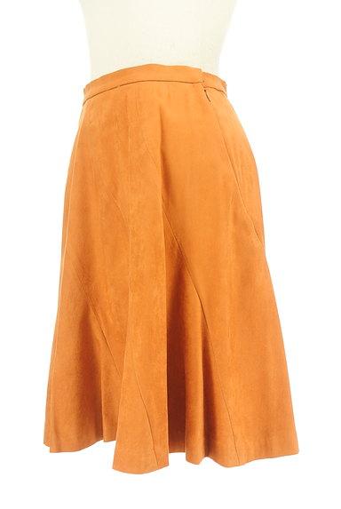 WILLSELECTION(ウィルセレクション)の古着「ミディ丈スエードフレアスカート(スカート)」大画像3へ