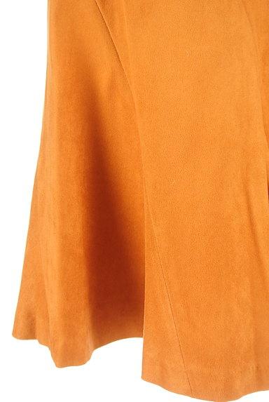 WILLSELECTION(ウィルセレクション)の古着「ミディ丈スエードフレアスカート(スカート)」大画像5へ
