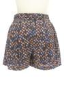 Dignite collier(ディニテ コリエ)の古着「ショートパンツ・ハーフパンツ」後ろ