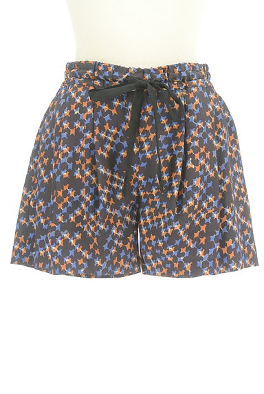 Dignite collier(ディニテ コリエ)の古着「総柄フレアショートパンツ(ショートパンツ・ハーフパンツ)」大画像1へ