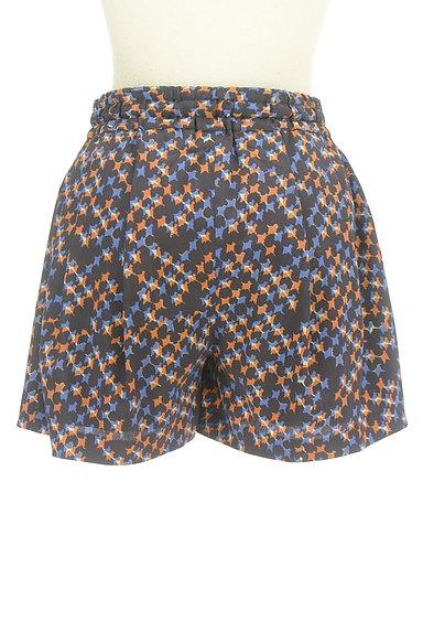 Dignite collier(ディニテ コリエ)の古着「総柄フレアショートパンツ(ショートパンツ・ハーフパンツ)」大画像2へ