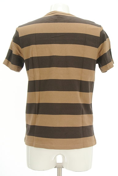 coen(コーエン)の古着「ポケット付きボーダーTシャツ(カットソー・プルオーバー)」大画像2へ