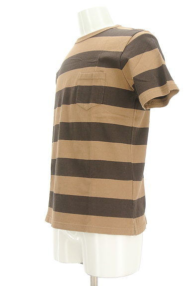 coen(コーエン)の古着「ポケット付きボーダーTシャツ(カットソー・プルオーバー)」大画像3へ