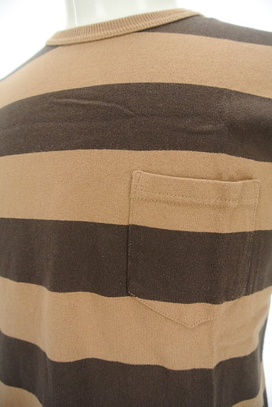 coen(コーエン)の古着「ポケット付きボーダーTシャツ(カットソー・プルオーバー)」大画像4へ
