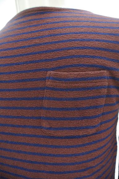 coen(コーエン)の古着「ボートネックボーダーカットソー(カットソー・プルオーバー)」大画像4へ