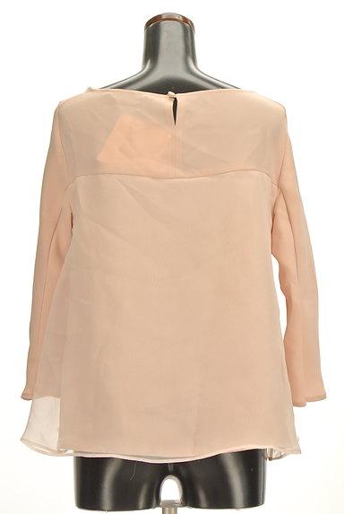 Tiara(ティアラ)の古着「フレア袖シフォンブラウス(カットソー・プルオーバー)」大画像2へ
