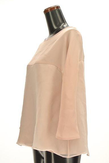 Tiara(ティアラ)の古着「フレア袖シフォンブラウス(カットソー・プルオーバー)」大画像3へ