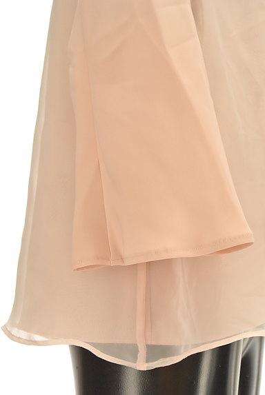 Tiara(ティアラ)の古着「フレア袖シフォンブラウス(カットソー・プルオーバー)」大画像4へ