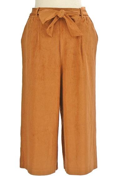 un dix cors(アンディコール)の古着「ウエストリボンミモレ丈ワイドパンツ(パンツ)」大画像1へ
