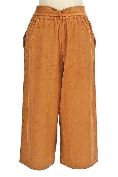 un dix cors(アンディコール)の古着「ウエストリボンミモレ丈ワイドパンツ(パンツ)」大画像2へ
