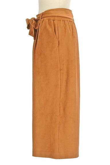 un dix cors(アンディコール)の古着「ウエストリボンミモレ丈ワイドパンツ(パンツ)」大画像3へ