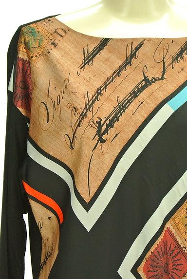 EPOCA(エポカ)の古着「プリントサテンワンピース(ワンピース・チュニック)」大画像4へ