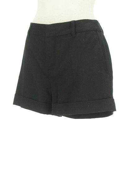 BLACK BY MOUSSY(ブラックバイマウジー)の古着「シンプルロールアップショートパンツ(ショートパンツ・ハーフパンツ)」大画像3へ