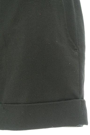 BLACK BY MOUSSY(ブラックバイマウジー)の古着「シンプルロールアップショートパンツ(ショートパンツ・ハーフパンツ)」大画像5へ