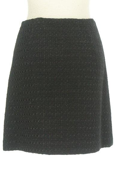 m's select(エムズセレクト)の古着「ウールフレアラメミニスカート(ミニスカート)」大画像2へ