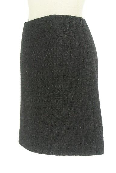 m's select(エムズセレクト)の古着「ウールフレアラメミニスカート(ミニスカート)」大画像3へ