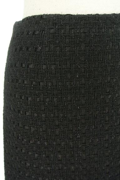m's select(エムズセレクト)の古着「ウールフレアラメミニスカート(ミニスカート)」大画像4へ