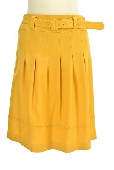 JUSGLITTY(ジャスグリッティー)の古着「ベルト付きタックフレアスカート(スカート)」大画像1へ