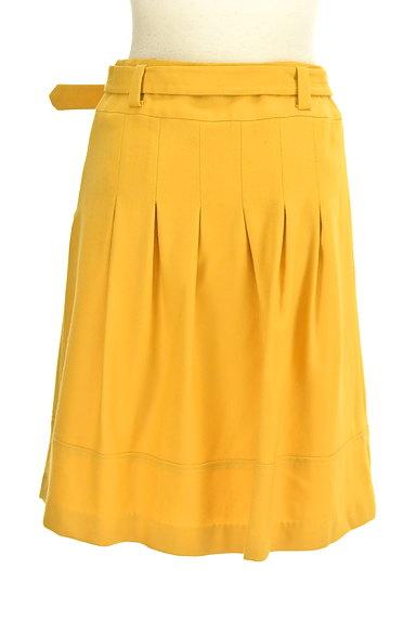 JUSGLITTY(ジャスグリッティー)の古着「ベルト付きタックフレアスカート(スカート)」大画像2へ