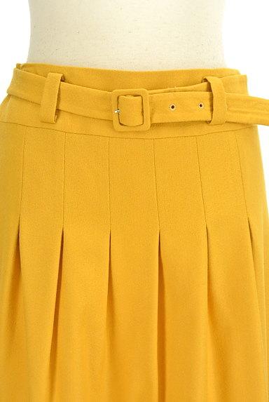 JUSGLITTY(ジャスグリッティー)の古着「ベルト付きタックフレアスカート(スカート)」大画像4へ