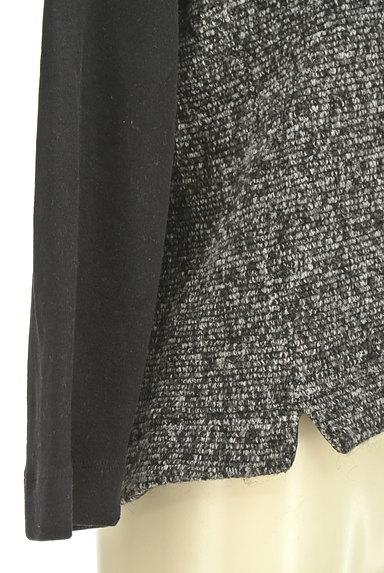 mjuka(ミューカ)の古着「袖切替バイカラーニット(ニット)」大画像5へ