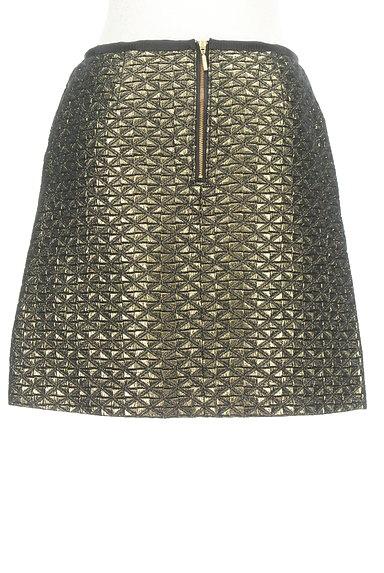 UNITED ARROWS(ユナイテッドアローズ)の古着「光沢フレアミニスカート(ミニスカート)」大画像2へ