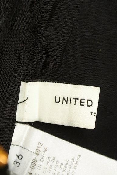 UNITED ARROWS(ユナイテッドアローズ)の古着「光沢フレアミニスカート(ミニスカート)」大画像6へ