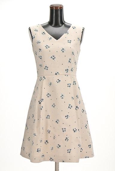 MERCURYDUO(マーキュリーデュオ)の古着「花柄フレアワンピース(ワンピース・チュニック)」大画像1へ