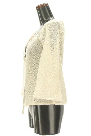 Rouge vif La cle(ルージュヴィフラクレ)の古着「ラメニットシアーカーディガン(カーディガン・ボレロ)」大画像3へ
