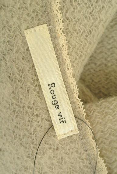 Rouge vif La cle(ルージュヴィフラクレ)の古着「レース&リボン7分袖カーディガン(カーディガン・ボレロ)」大画像6へ