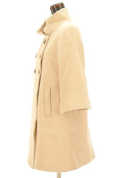 Rouge vif La cle(ルージュヴィフラクレ)の古着「Aラインロングウールコート(コート)」大画像3へ