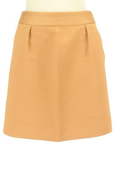 Rouge vif La cle(ルージュヴィフラクレ)の古着「タック台形ミニスカート(ミニスカート)」大画像1へ