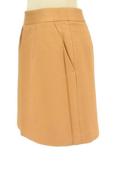 Rouge vif La cle(ルージュヴィフラクレ)の古着「タック台形ミニスカート(ミニスカート)」大画像3へ