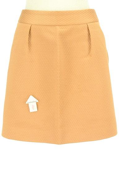 Rouge vif La cle(ルージュヴィフラクレ)の古着「タック台形ミニスカート(ミニスカート)」大画像4へ