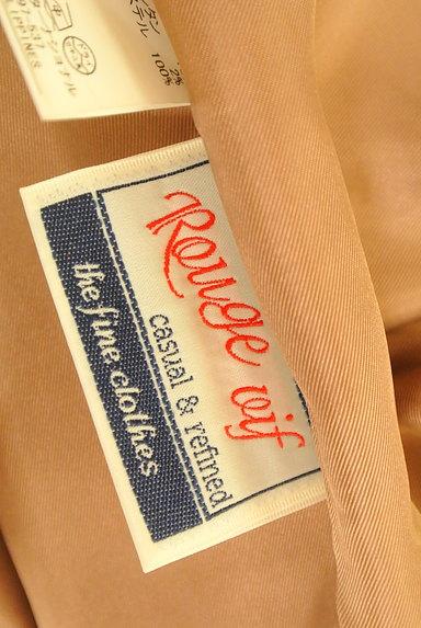 Rouge vif La cle(ルージュヴィフラクレ)の古着「タック台形ミニスカート(ミニスカート)」大画像6へ