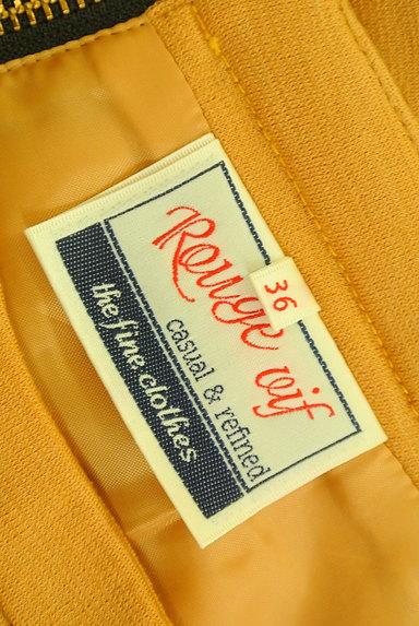 Rouge vif La cle(ルージュヴィフラクレ)の古着「フレアカラーミニスカート(ミニスカート)」大画像6へ