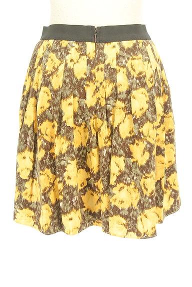 Rouge vif La cle(ルージュヴィフラクレ)の古着「総柄切替フレアミニスカート(ミニスカート)」大画像2へ