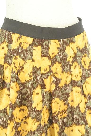 Rouge vif La cle(ルージュヴィフラクレ)の古着「総柄切替フレアミニスカート(ミニスカート)」大画像4へ