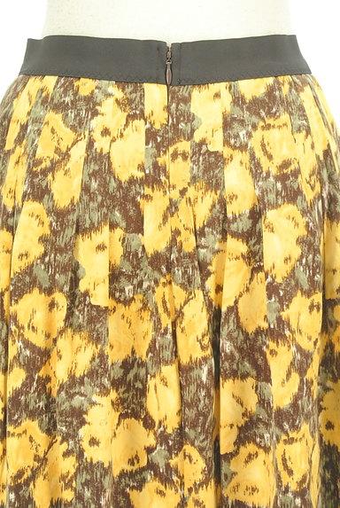 Rouge vif La cle(ルージュヴィフラクレ)の古着「総柄切替フレアミニスカート(ミニスカート)」大画像5へ
