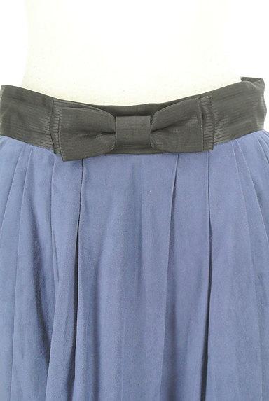 Rouge vif La cle(ルージュヴィフラクレ)の古着「ウエストリボンフレアスカート(ミニスカート)」大画像4へ
