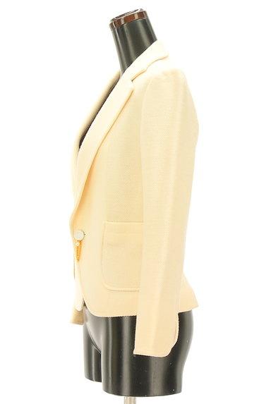 Rouge vif La cle(ルージュヴィフラクレ)の古着「ウールテーラードジャケット(ジャケット)」大画像3へ